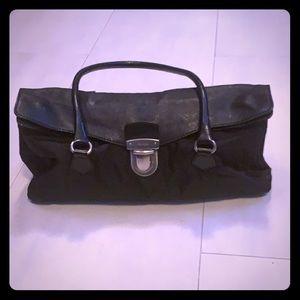 Prada Tessuto Nylon & Leather Foldover Purse